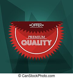 Best offer and quality design - Best offer concept with...