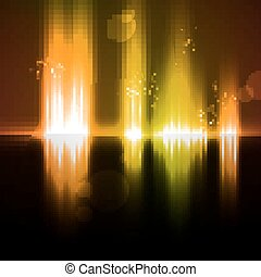 Abstract light background futuristic illustration