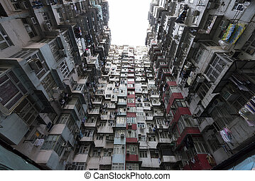 Crowded Hong Kong