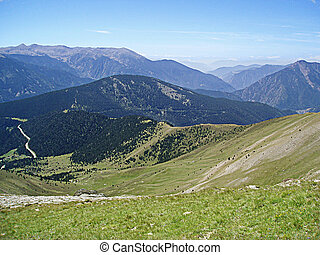 Andorra - Hiking in Andorra North east, picture taken last...