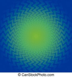Abstract background with zigzag radiating lines editable...