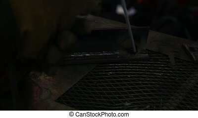 Welding closeup three - Welding closeup shot three