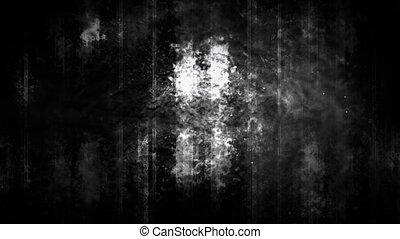 Abstract grunge darkness and light