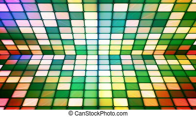 Broadcast Twinkling Hi-Tech Cubes Stage, Multi Color,...