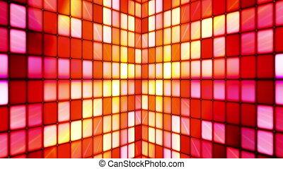 Twinkling Hi-Tech Cubes Walls 01 - Thank you for choosing...