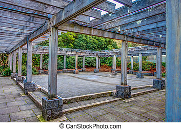 Seattle Courtyard HDR
