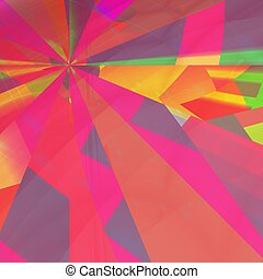 computer generated colorful abstract wallpaper