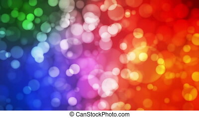 Broadcast Light Bokeh, Multi Color, Events, Loopable, HD -...