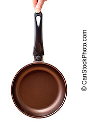 Pan with non-stick coating - Frying pan with non-stick...