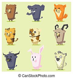 Cute Animals  Icon Set 4