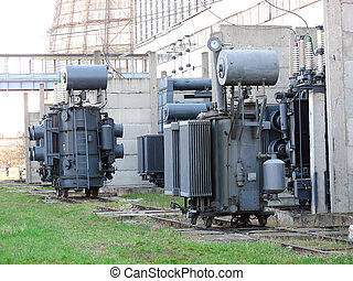 Line of huge high voltage electric power converters