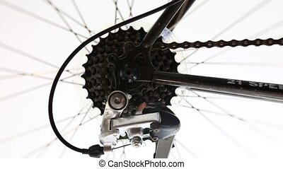 Bicycle wheel an gears