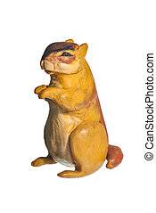 Groundhog Day - little plasticine marmot made by hand for...
