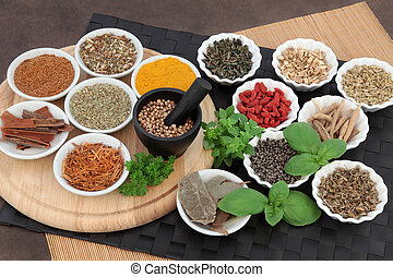 Herbs for Mens Health - Herb and spice selection for men...