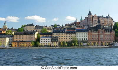 """stockholm old city view, sweeden"""
