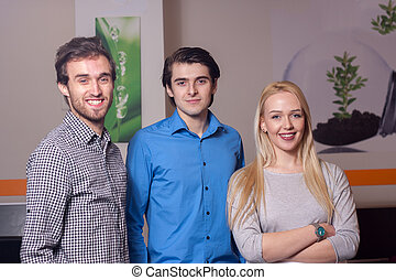 Group of young entrepreneurs