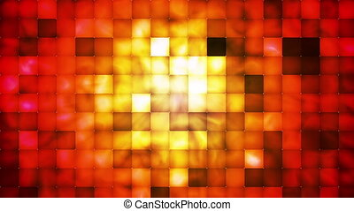 Broadcast Abstract Hi-Tech Smoke Tile Patterns, Multi Color,...