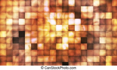 Broadcast Abstract Hi-Tech Smoke Tile Patterns, Orange, Abstract, Loopable, HD