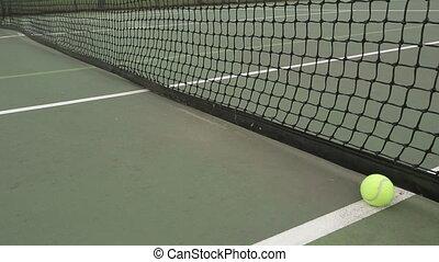 Tennis Ball Hand Court