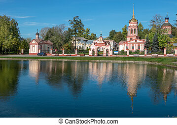 Altufyevo Manor and Church of the Exaltation of the Holy...
