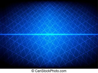 Abstract Blue technology grid background. illustration vector design