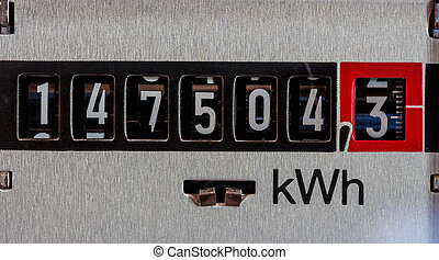 electric meter - an electricity meter measures the current...