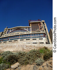 Cliffside Hotel - A hotel by some very high costal cliffs