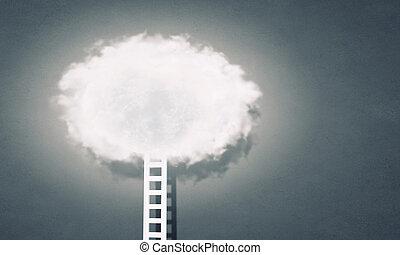 Ladder as progress concept
