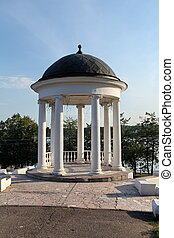rotunda - Rotunda to relax in the shade on the high bank of...