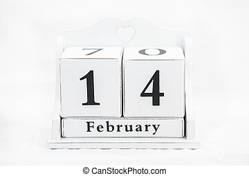 calendar february date winter wood