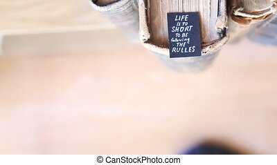 Life Is Too Short To Be Following The Rules - inspirational...