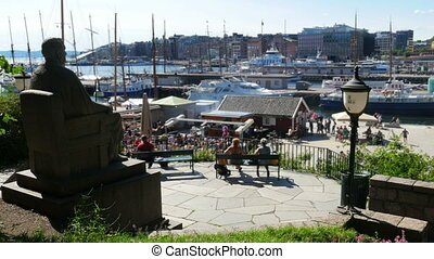 quot;oslo marina view, norwayquot; - oslo marina view,...