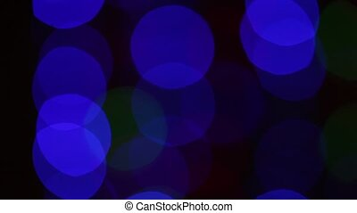 Abstract motion background with flashing lights