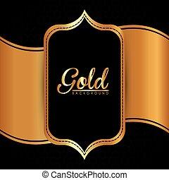 diseo oro plano de fondo