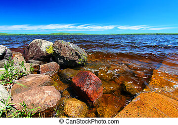 Lake Gogebic Michigan Upper Peninsula - Lake Gogebic is the...