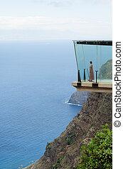 Mirador de Abrante, Agulo, La Gomera - Atlantic view fron...