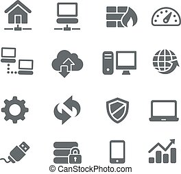 Network Icons - Utility - Icons for your digital or print...