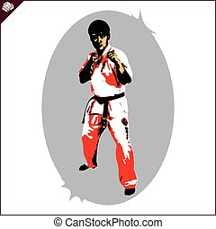 shinkyokushinkai karate fighter - kyokushinkai karate...