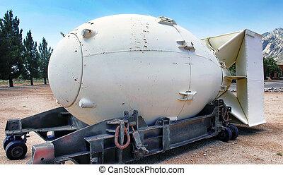 Fat Man Bomb. - Fat Man was the first atomic bomb.
