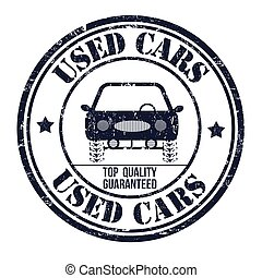 Used cars stamp