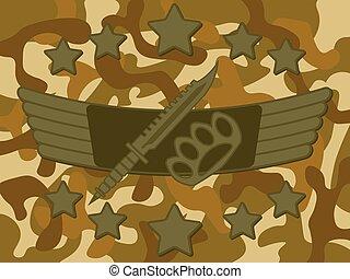 Military Logo Melee Combat