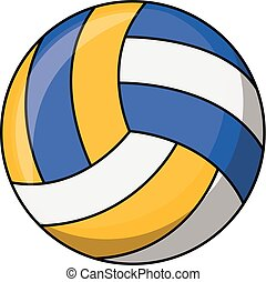Volley ball illustration
