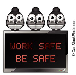 Work safe be safe - Construction work safe be safe health...