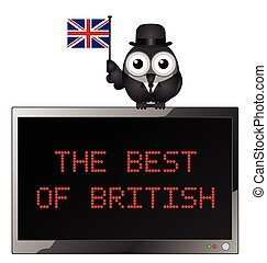 The Best of British - Best of British with businessman bird...