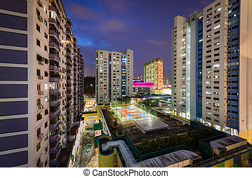 Residential buildings with recreational space - Singapore