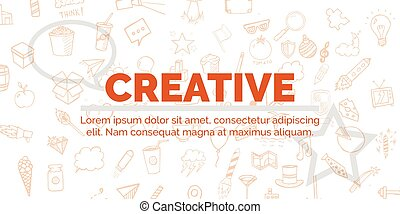 Vector banner Illustration Modern Banner for Design and...