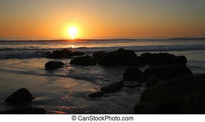 Florida Dawn Loop - The sun rises over Florida's Atlantic...