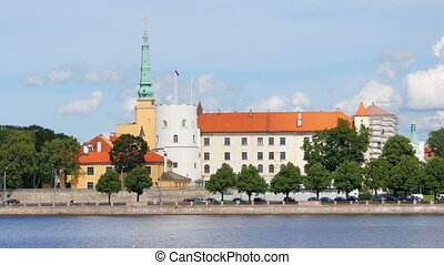 quot;Riga old city street view, latvia, 4kquot; - Riga old...