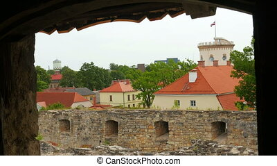 quot;Cesis castle, northern latvia, 4kquot; - Cesis castle,...