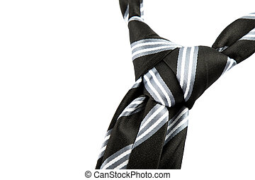 tie knot with stripes - elegant casual neck tie knot with...